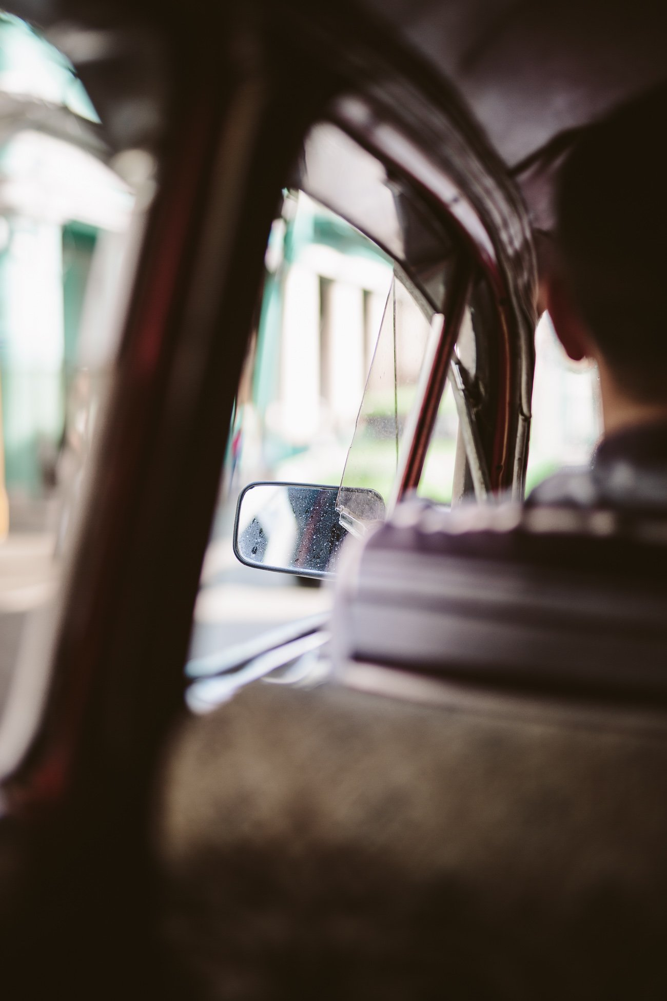Ride in a Taxi Colectivo in Havana