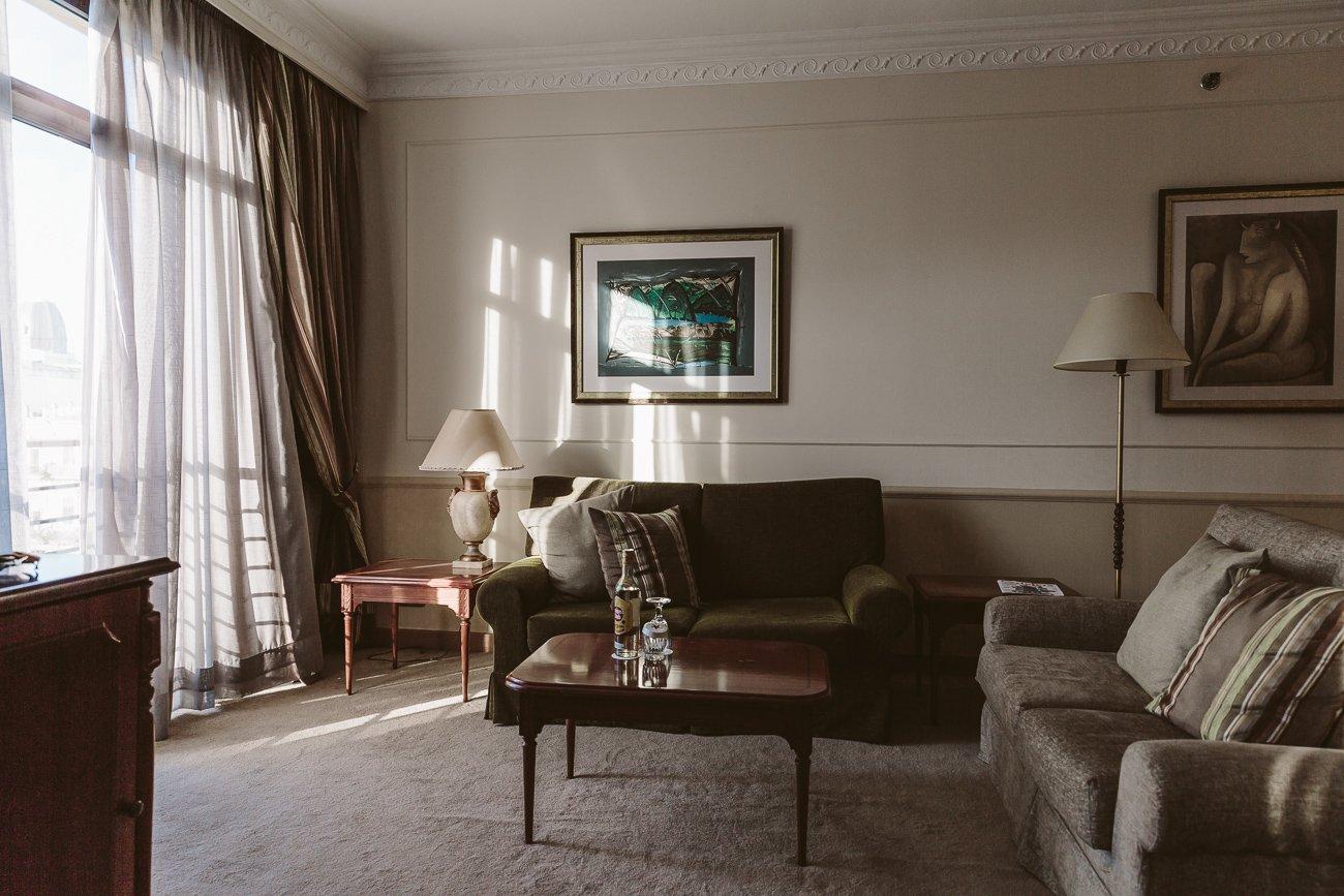 Suite at the 5th floor of Iberostar Parque Central Havana