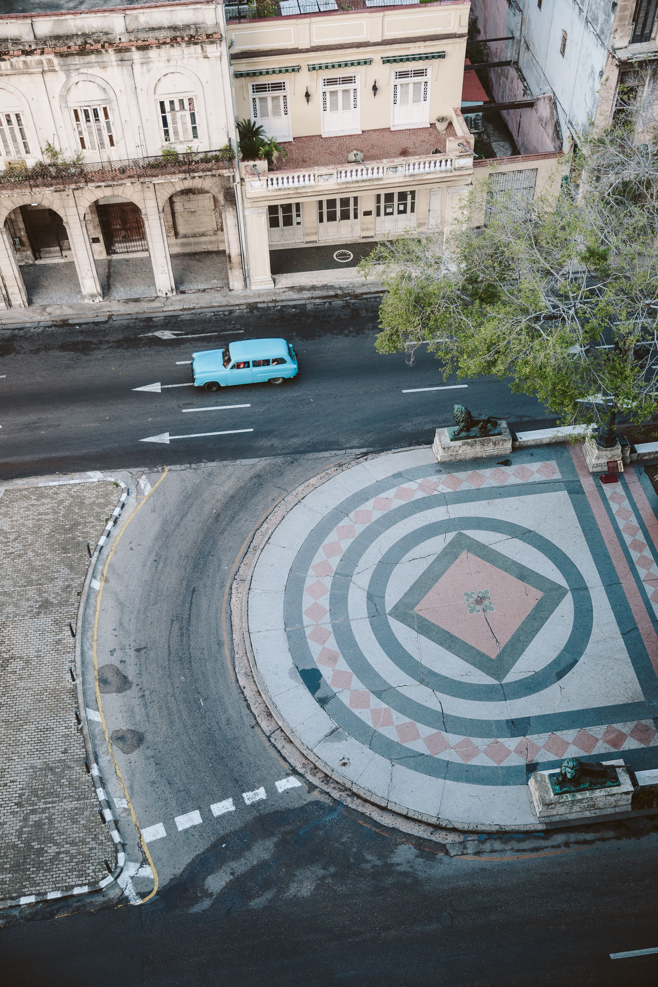 Rooftop view from Iberostar Parque Central Havana
