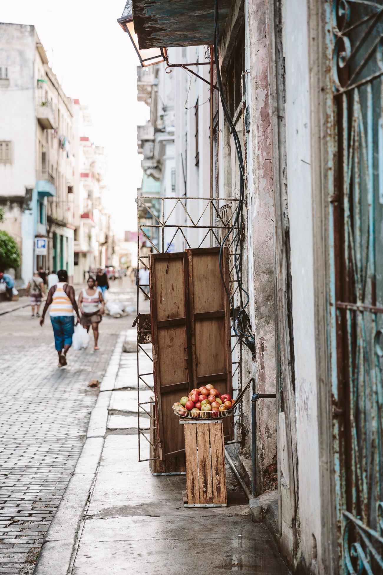 Apple store in Havana Vieja Cuba
