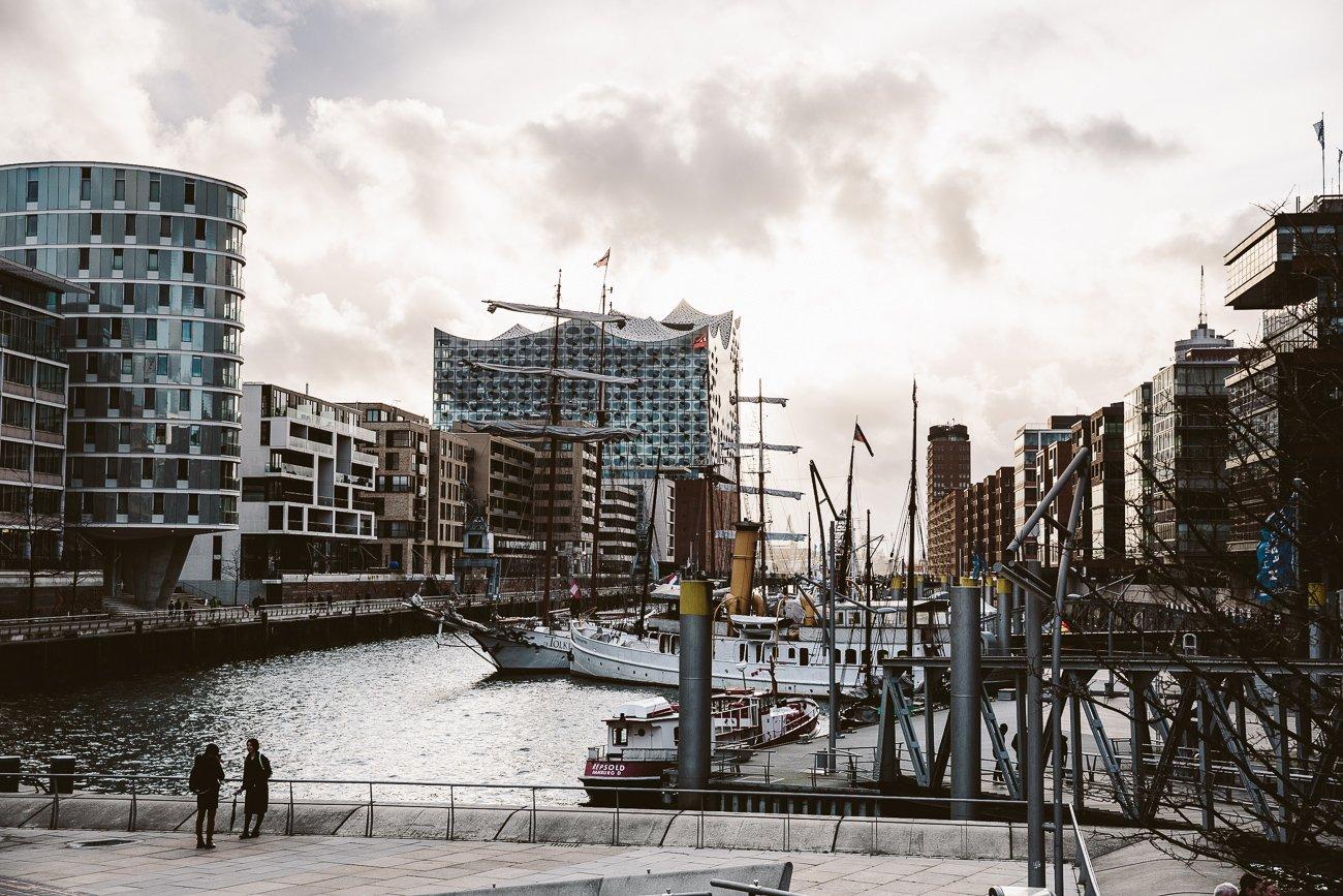 Hamburg Hafencity and Elbphilharmonie