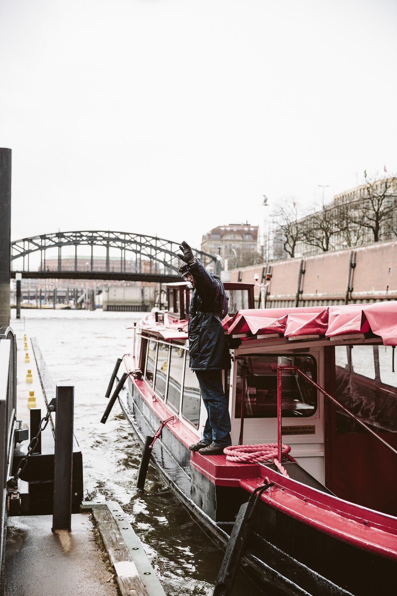 Harbour tour in Hamburg