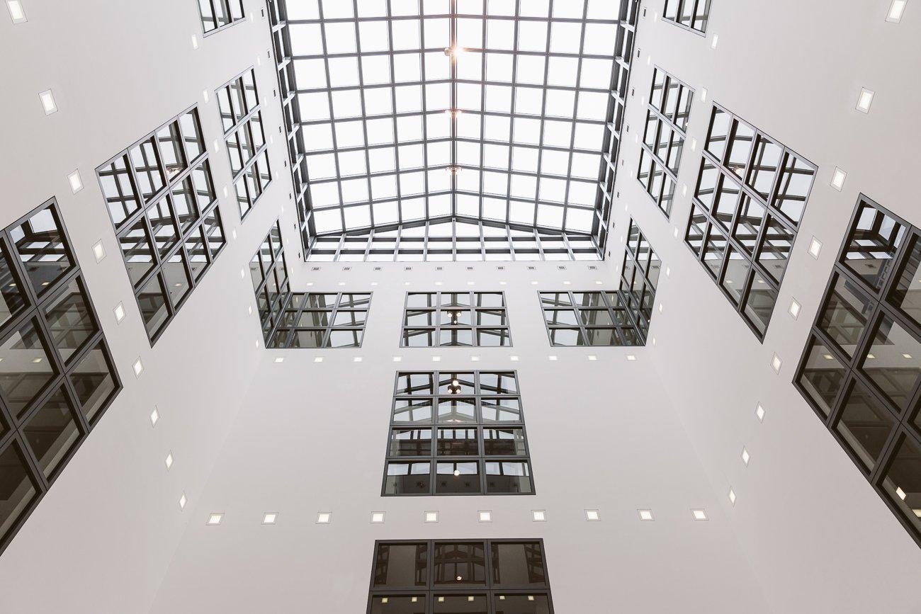 Inside Kunsthalle Hamburg