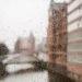 Rain in Hamburgs Speicherstadt