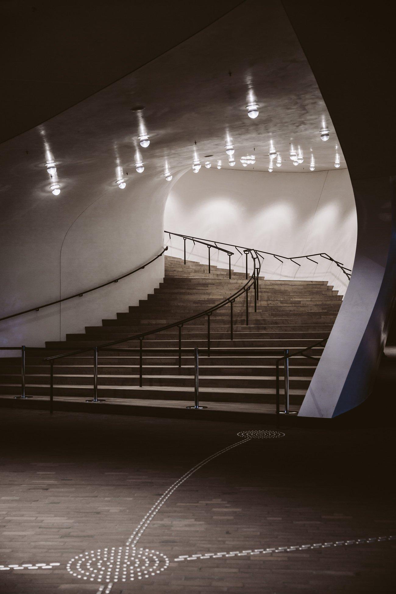 Inside Elphi Elbphilharmonie Hamburg