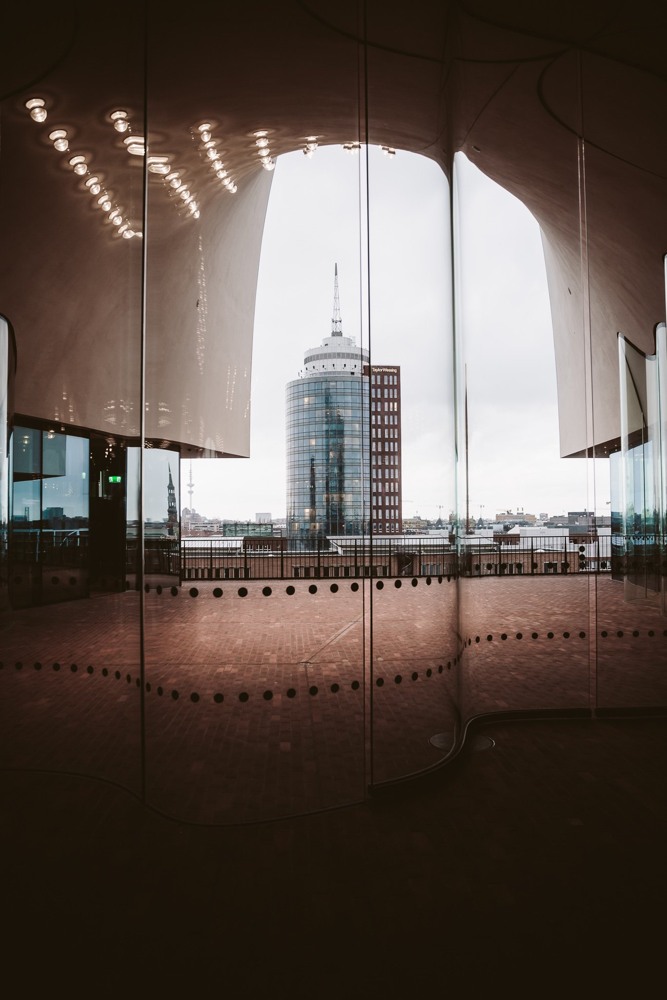 Plaza at the Elphi Elbphilharmonie Hamburg