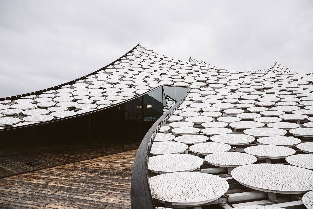 Rooftop at Elphi Elbphilharmonie Hamburg