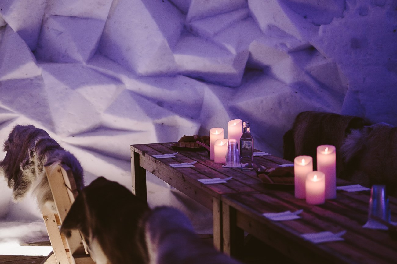 Iglootel in Swedish Lapland