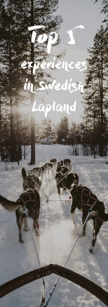 Top 5 experiences in Swedish Lapland