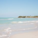The beach of Varadero Cuba
