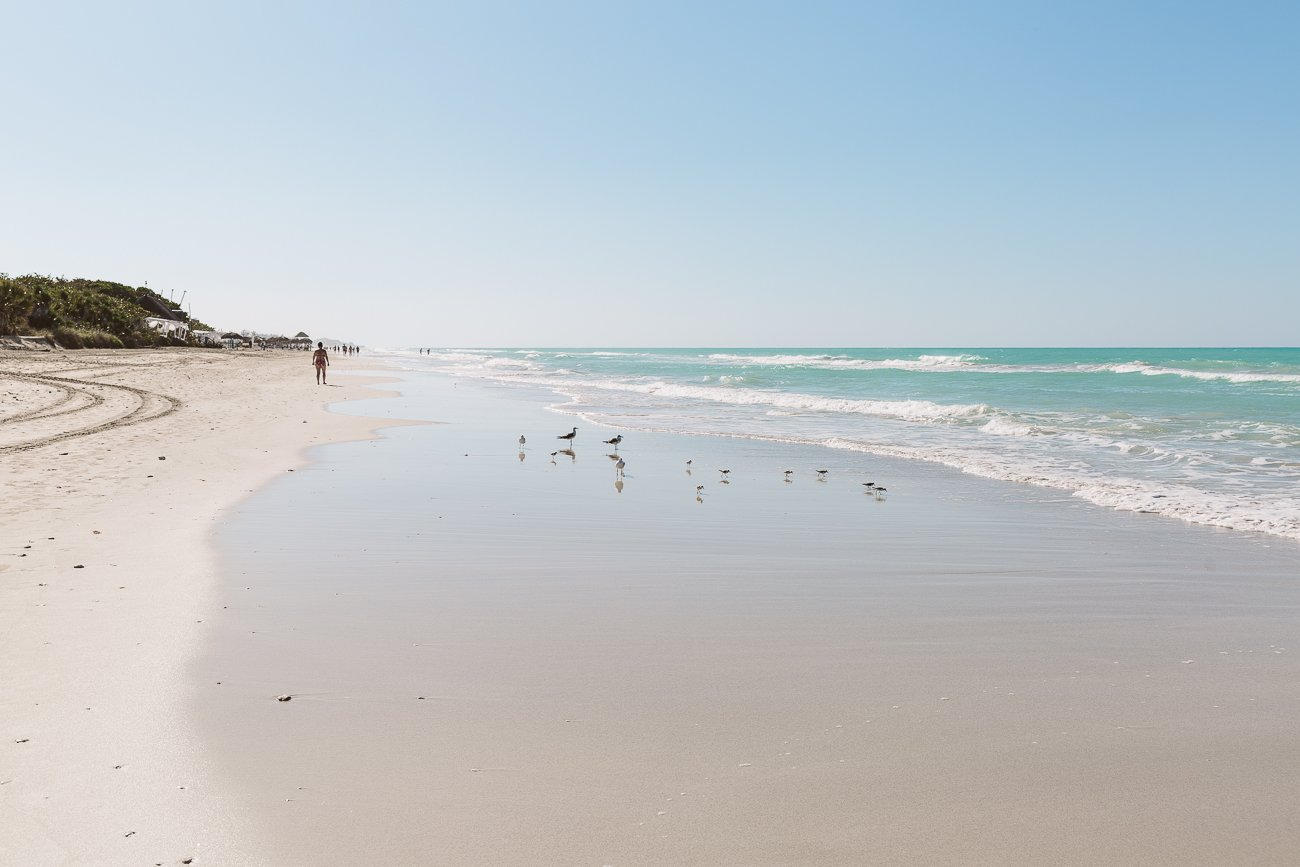 Beach at Varadero Cuba