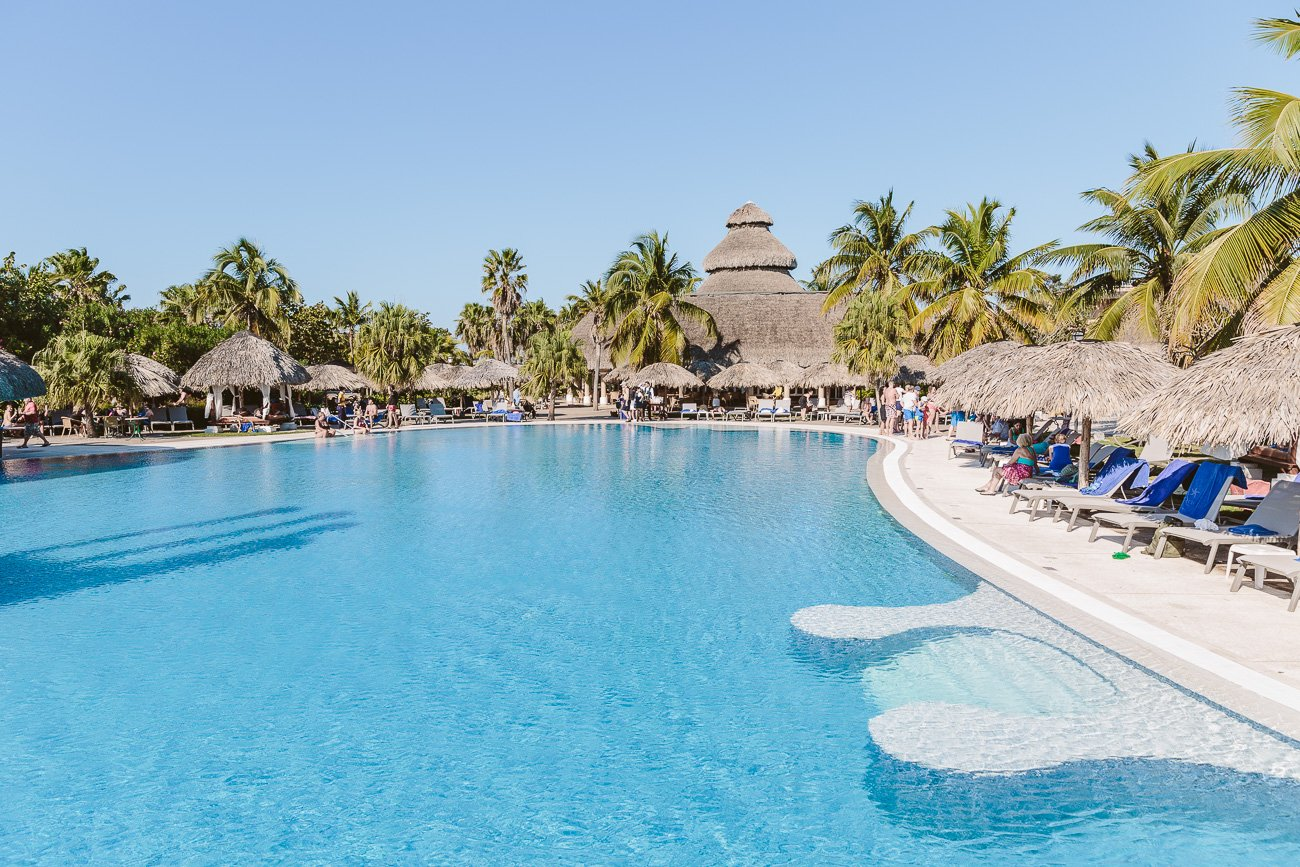 The pool of Iberostar Varadero Cuba