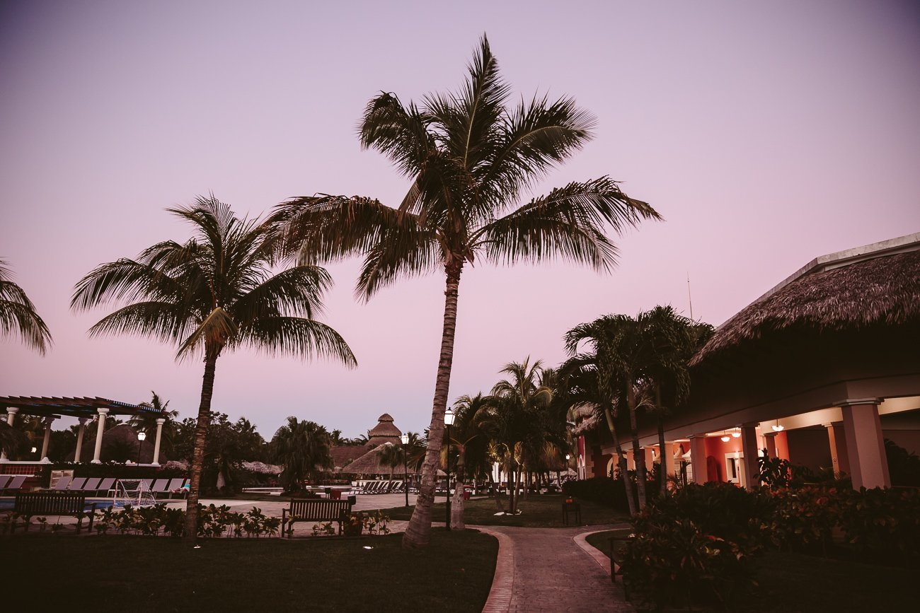 Dawn at the Iberostar Varadero
