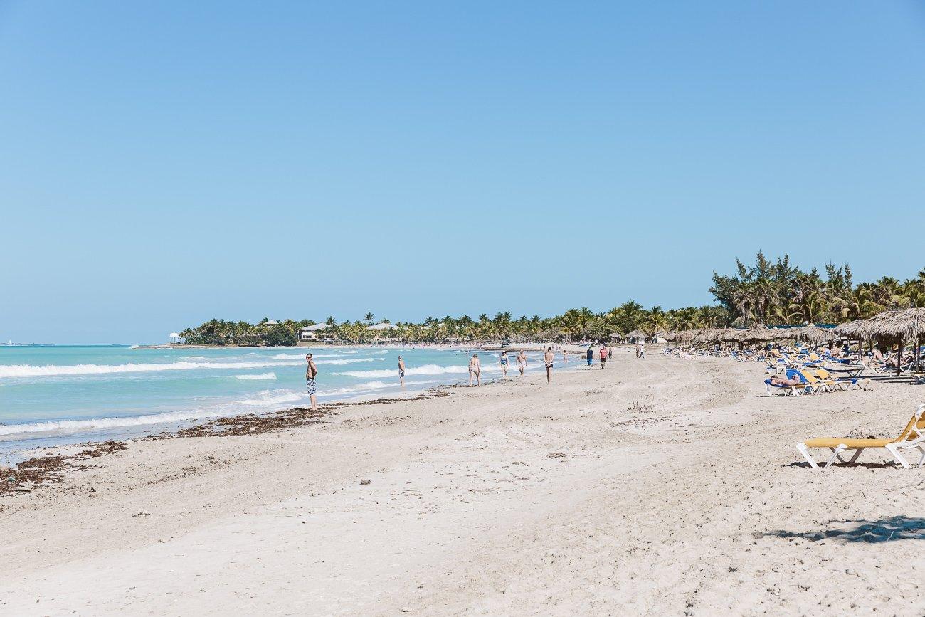 Beach of Varadero Cuba