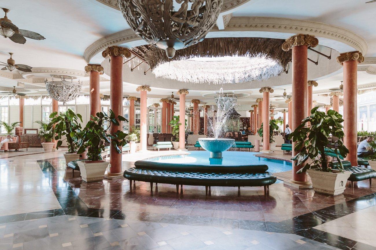 Lobby at Iberostar Varadero Hotel