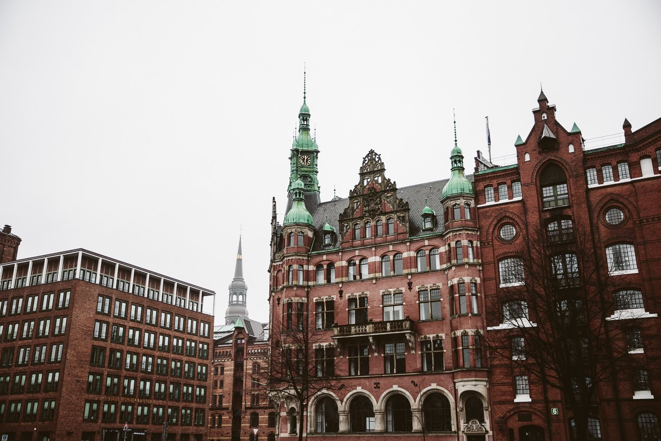 Rainy days in Hamburg