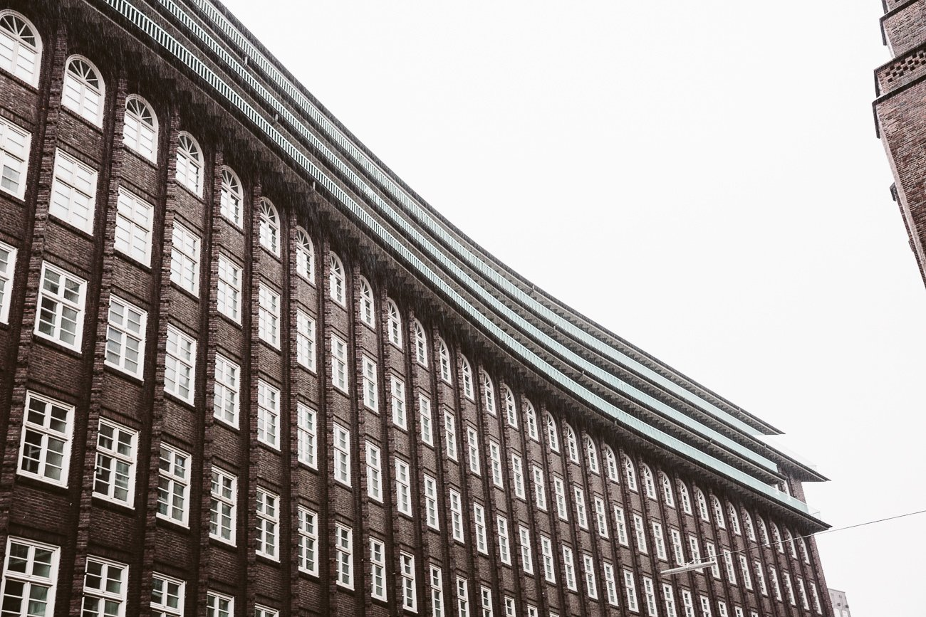 Chilehaus in Hamburg's Kontorhaus district