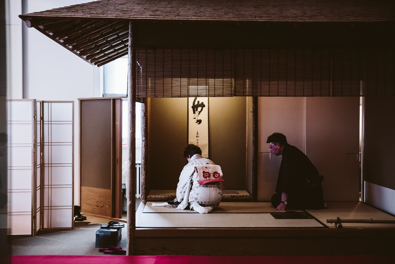Japanese Tea Ceremony at the Museum für Kunst und Gewerbe Hamburg