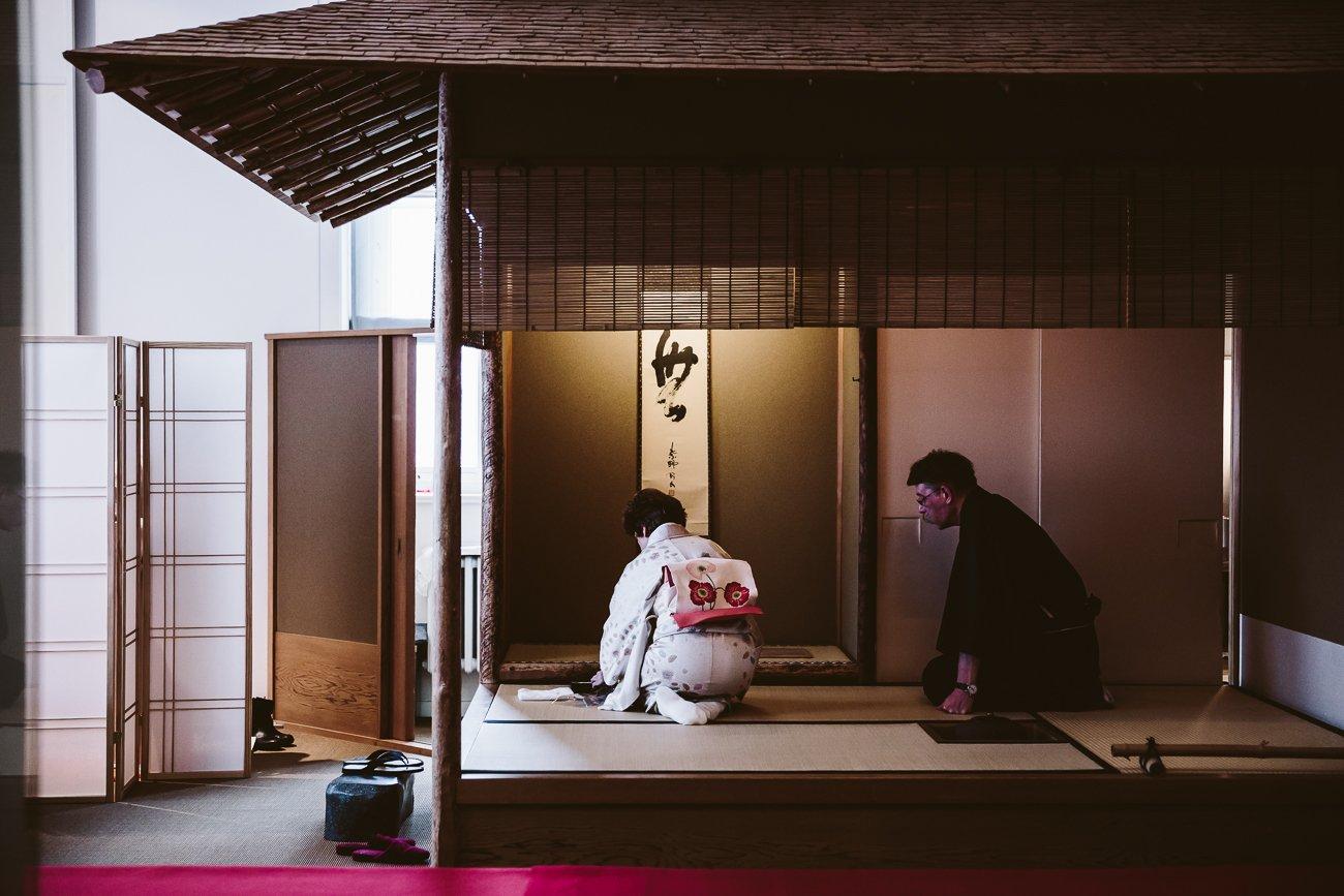 Japanese Tea Ceremony at the Museum für Kunst und Gewerbe Hamburg