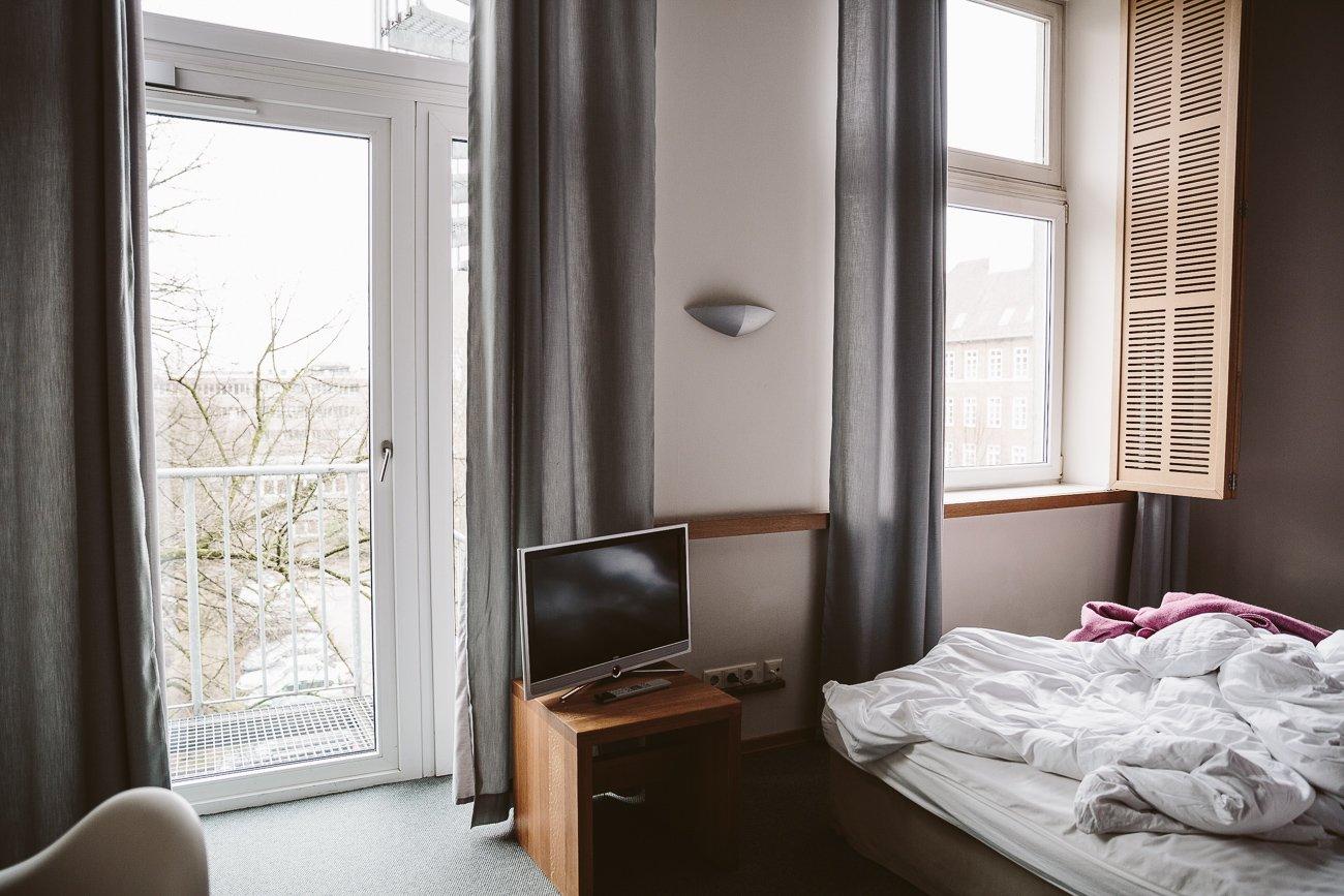 Room with terrace at Yo Ho Hotel Hamburg