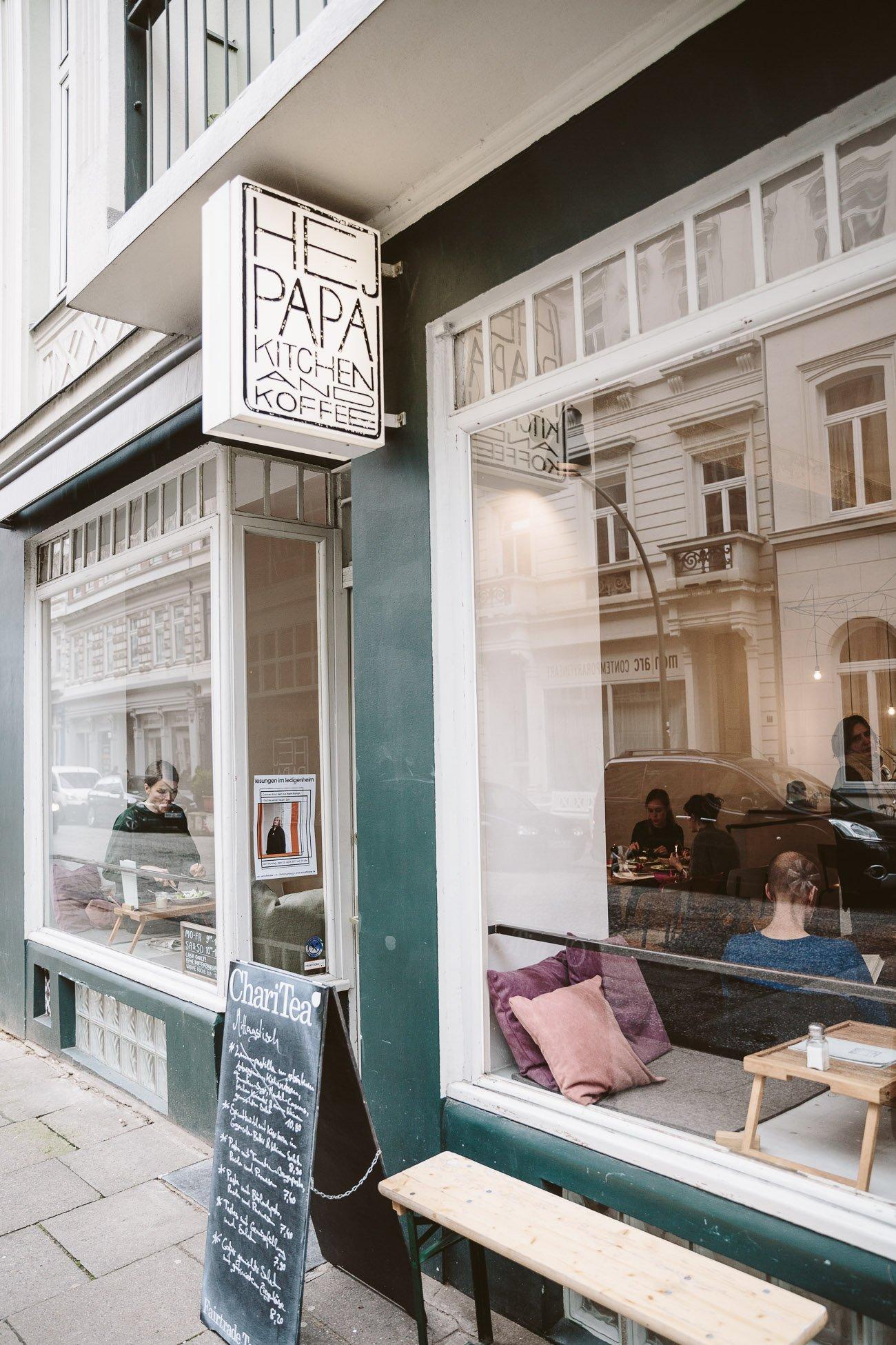 Hej Papa Café in Hamburg