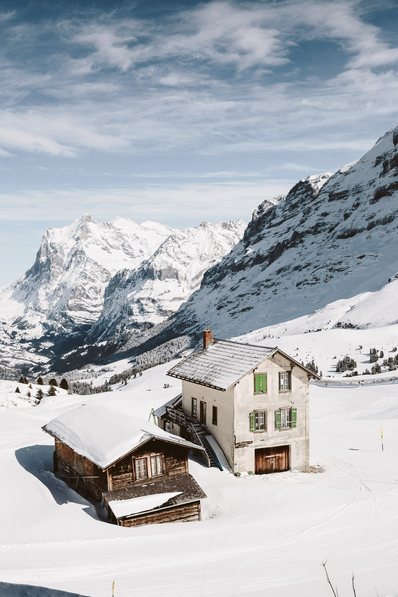 Kleine Scheidegg in Switzerland