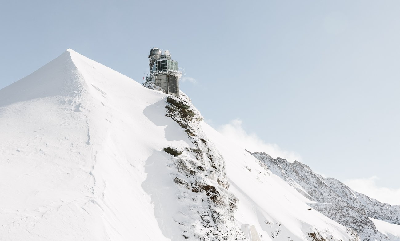 The Sphinx at Jungfraujoch
