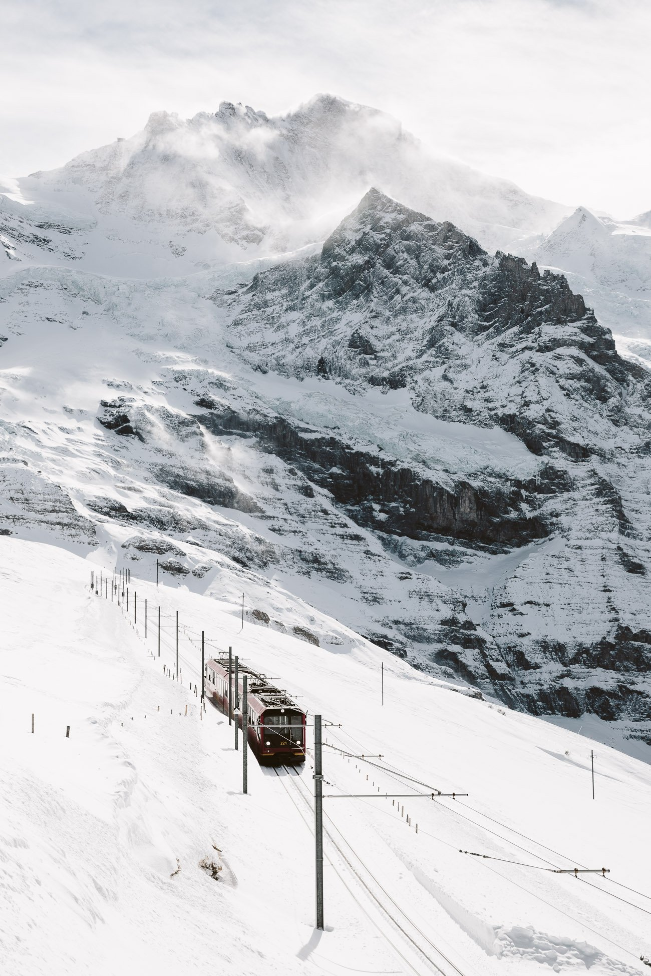 Jungfraubahn in Switzerland