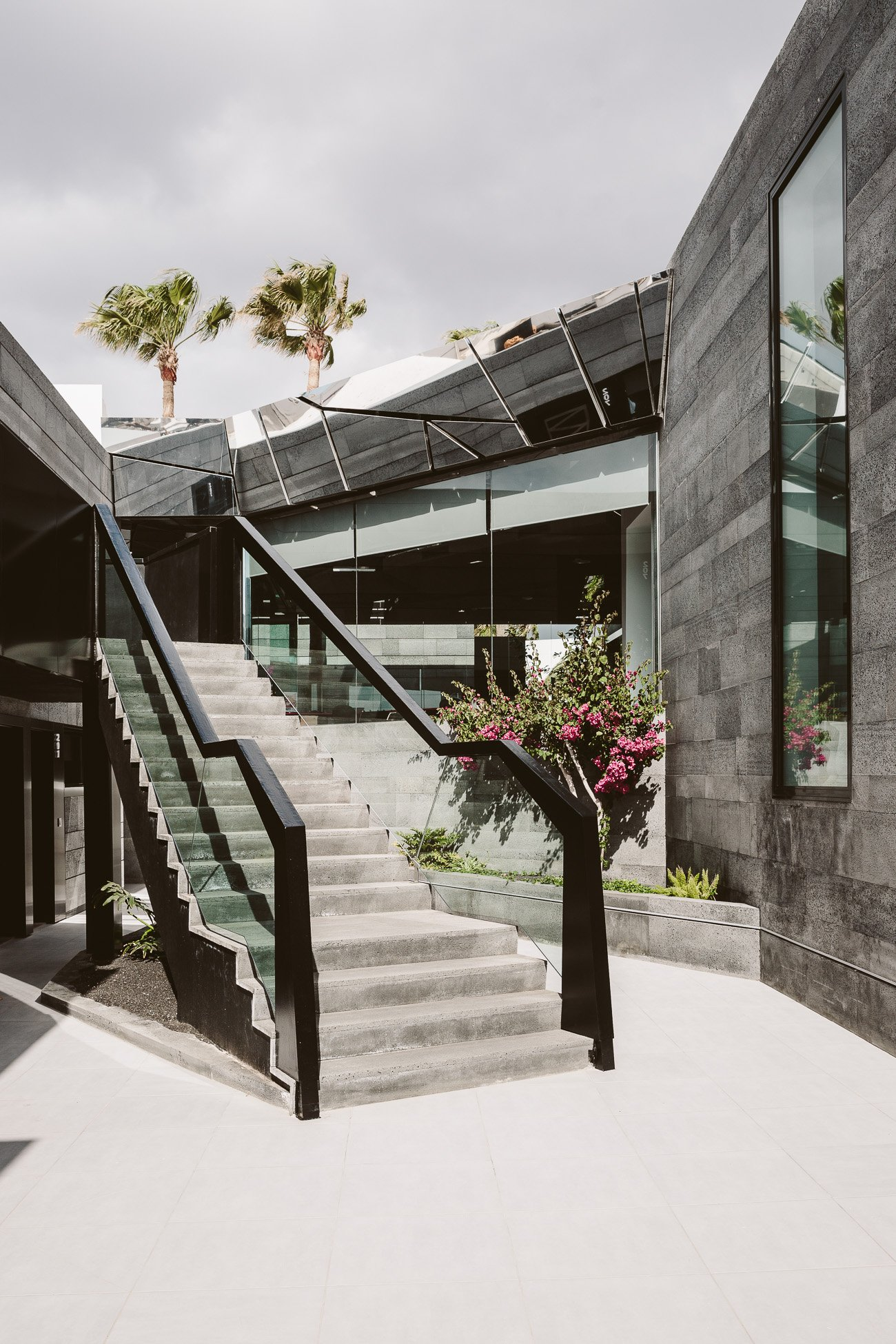Architectural details of La Isla Y El Mar Boutique Hotel Lanzarote
