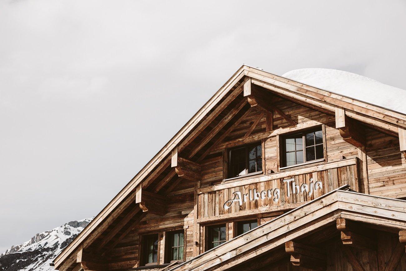 Arlberg Thaja St. Christoph am Arlberg
