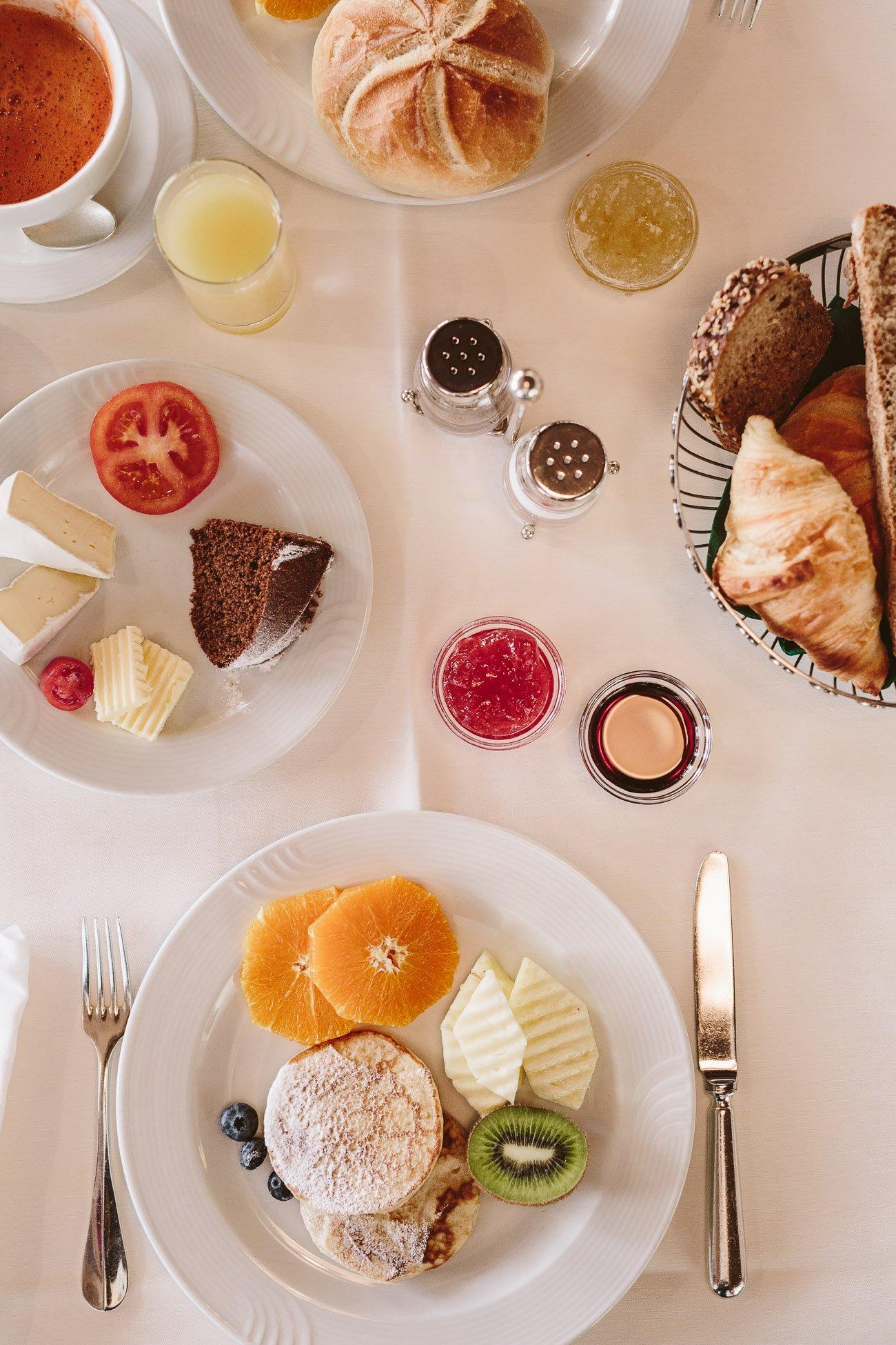 Breakfast at Hotel Schwarzer Adler St. Anton am Arlberg