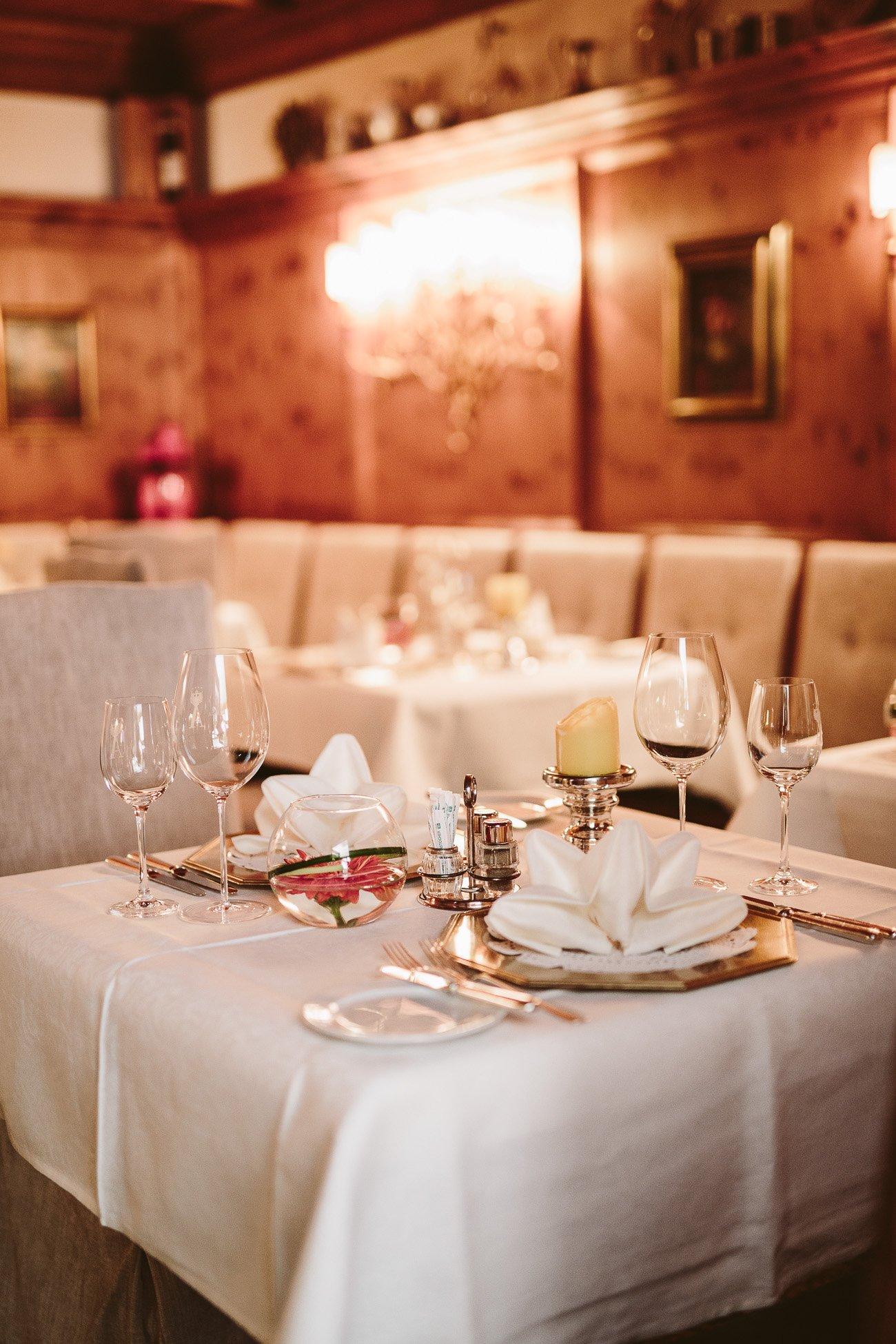 Dinner at Hotel Schwarzer Adler St. Anton am Arlberg