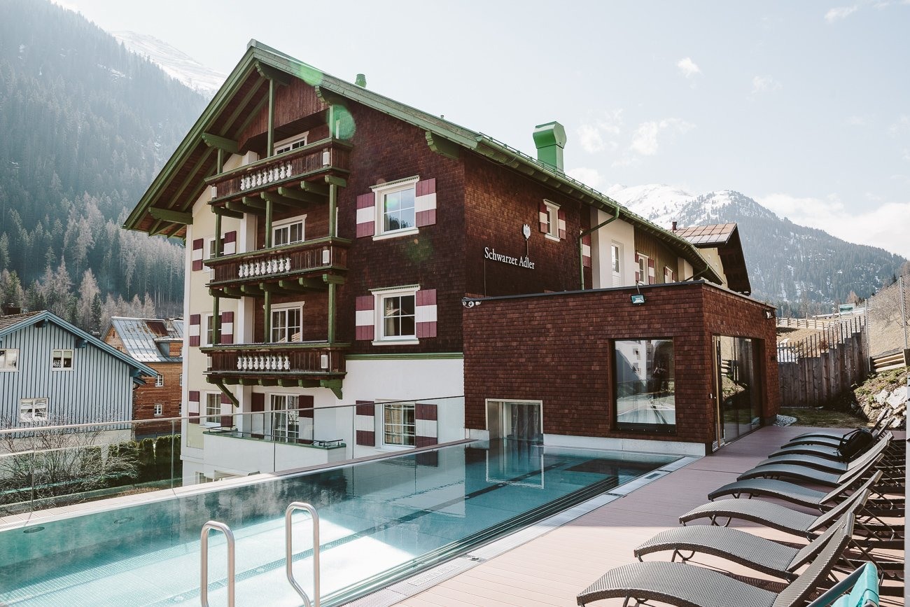 Hotel Schwarzer Adler St Anton Am Arlberg The Cradle Of Skiing In Austria