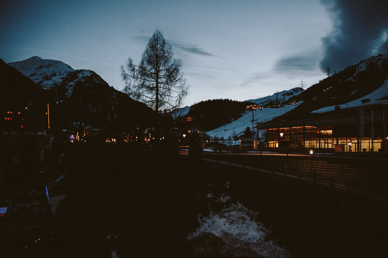 Dawn in St. Anton