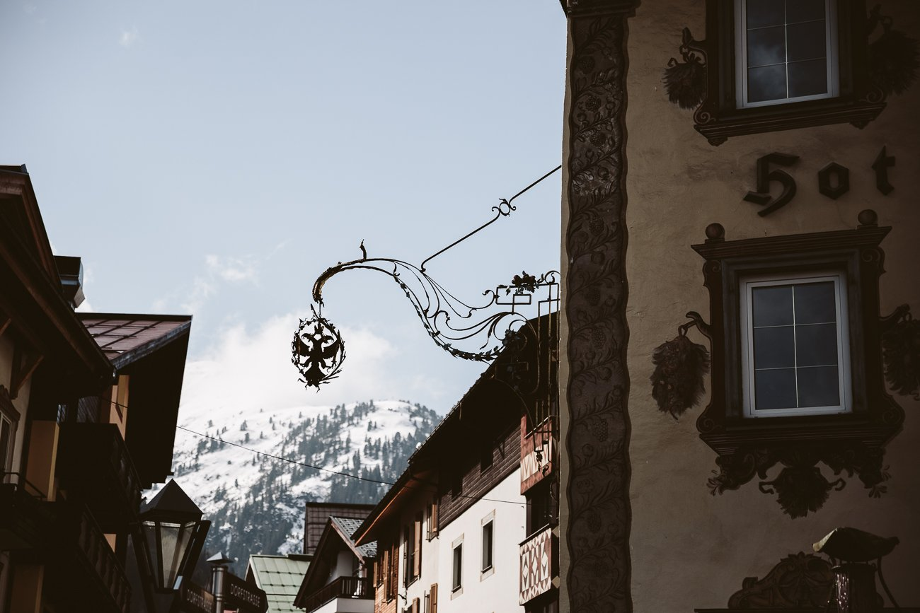 St. Anton am Arlberg and the Hotel Schwarzer Adler