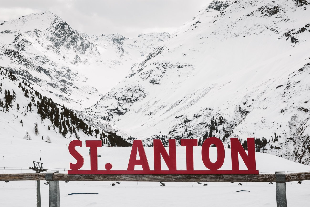 St. Anton Skiing arena