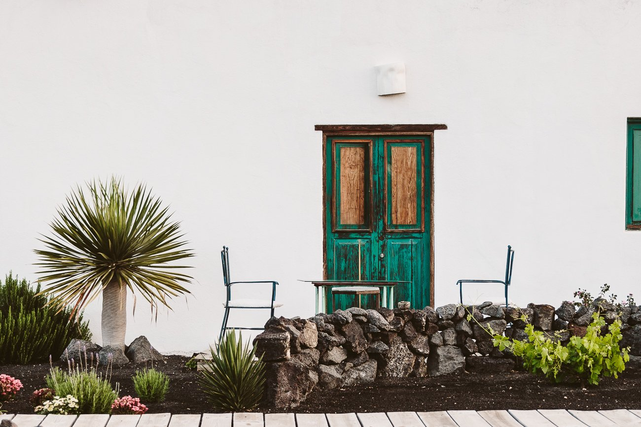 The breakfast situation on the terraces of Buenavista Country Suites Lanzarote