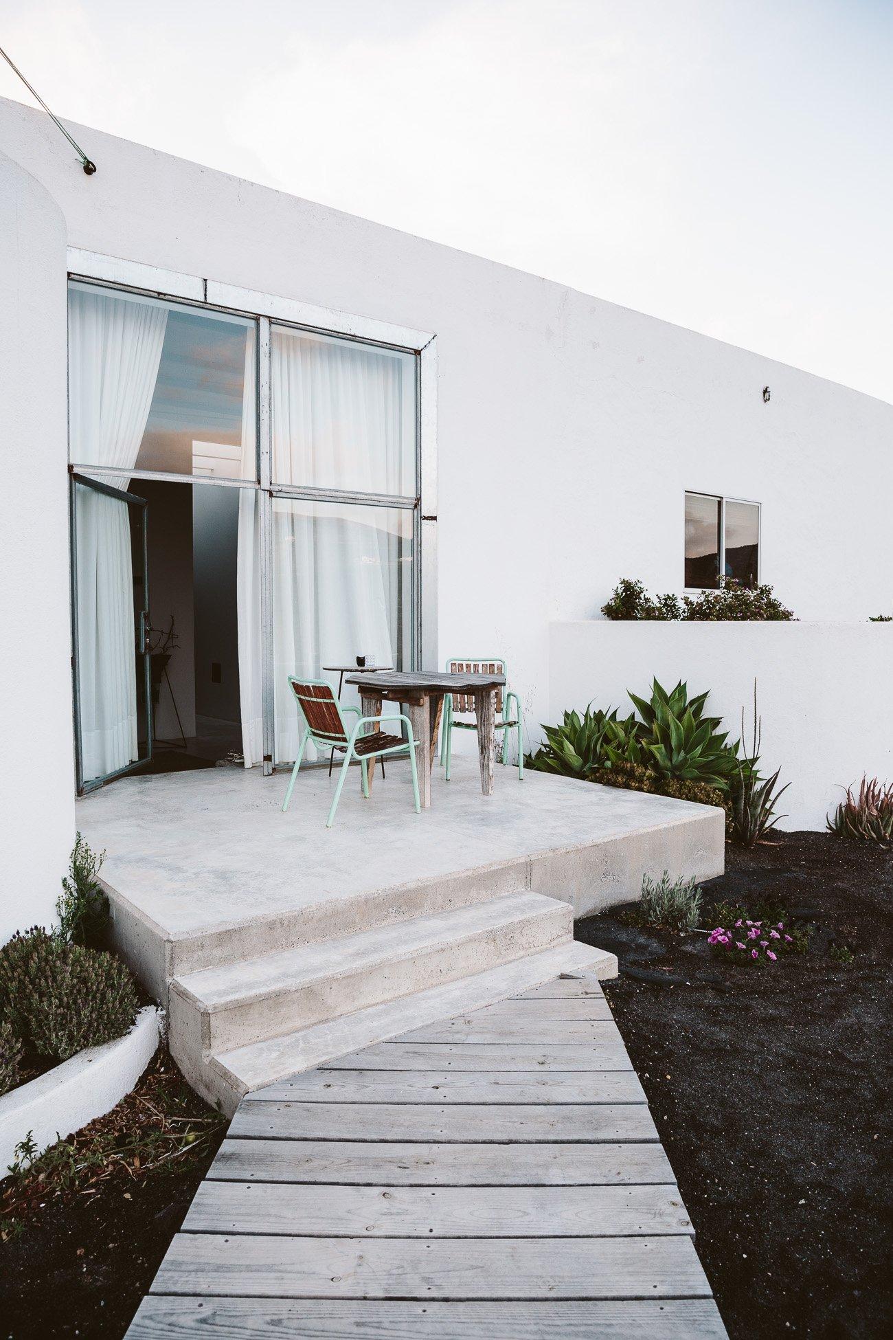 The terrace of Suite Sur at Buenavista Country Suites Lanzarote