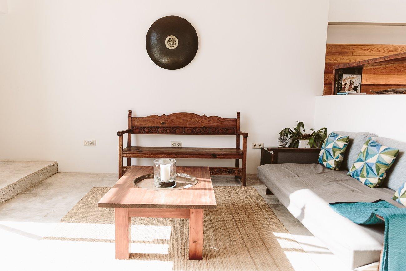 Living Room of Suite Sur at Buenavista Country Suites Lanzarote
