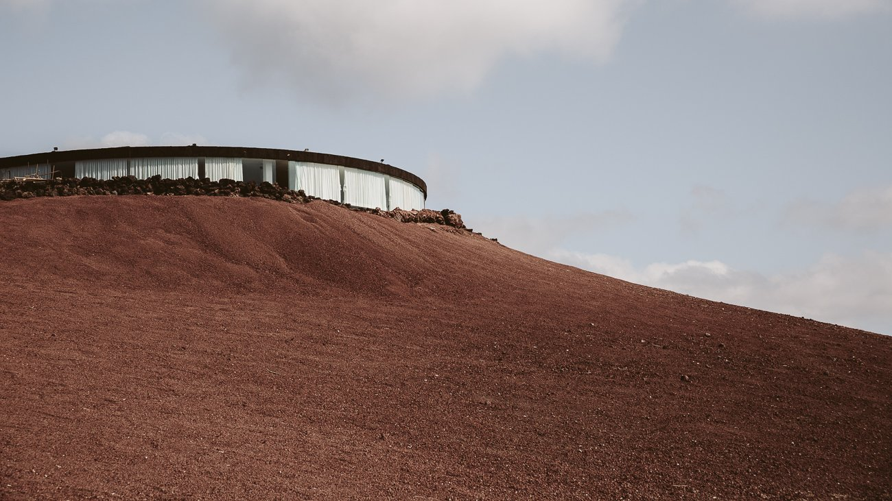 El Diablo Restaurant at Timanfaya National Park