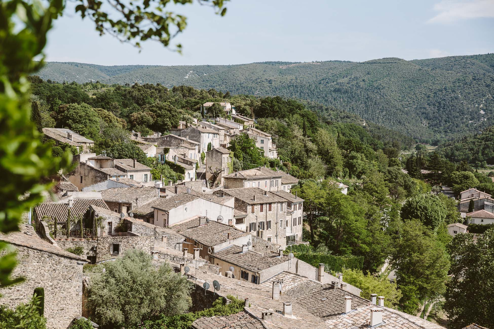 Menèrbes in the Luberon area of Provence