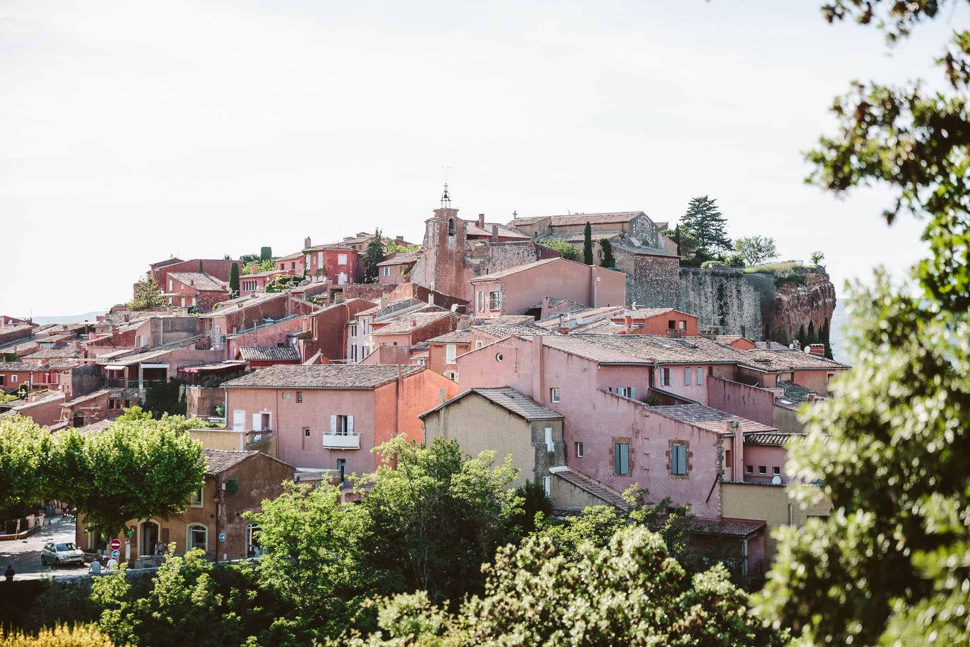 The village of Roussillon Provence
