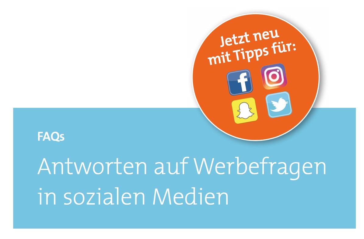 Die Medienanstalten Tipps für Social Media Werbekennzeichnung