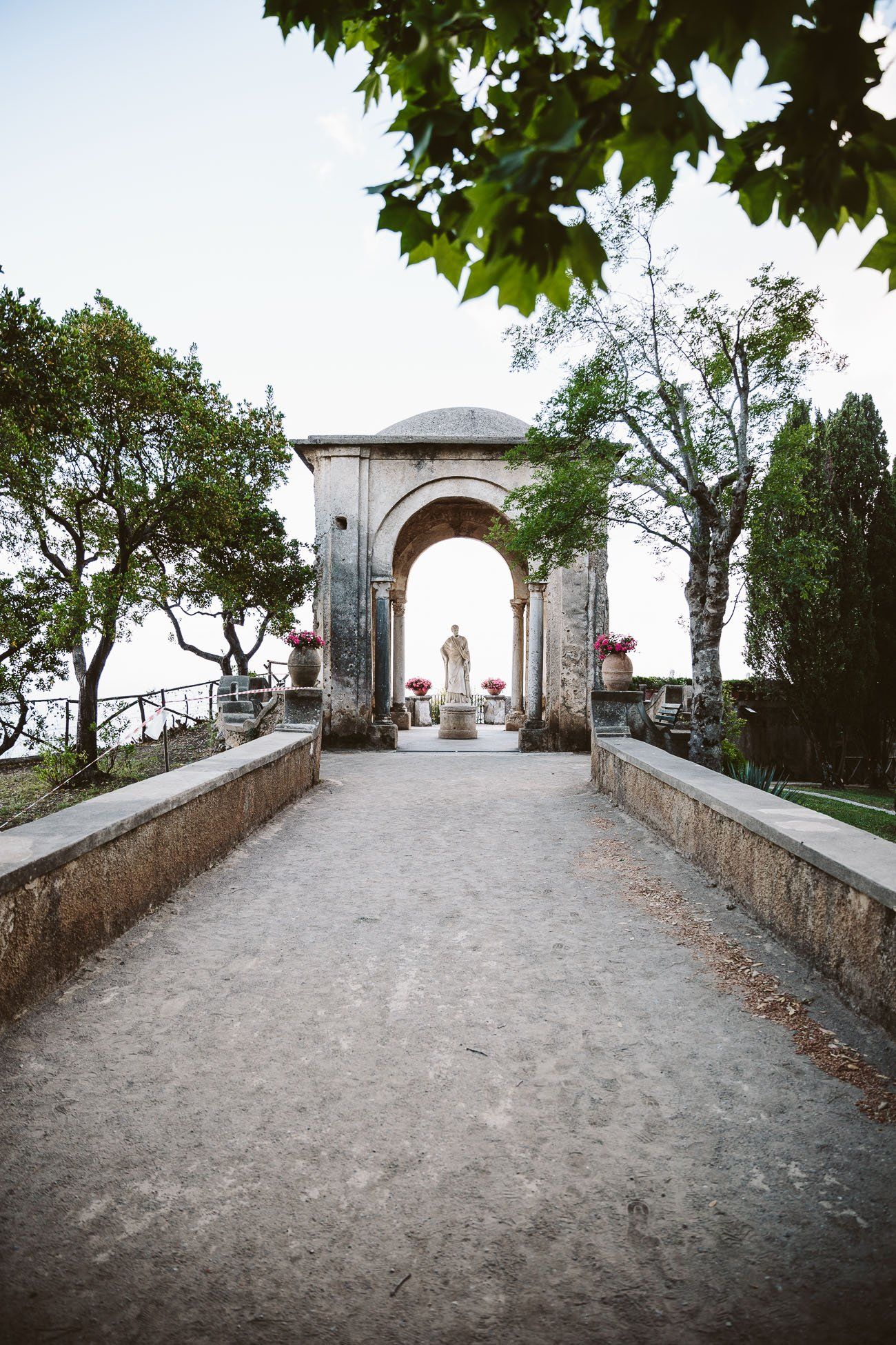 Terrazza dell'infinito at Villa Cimbrone, Ravello