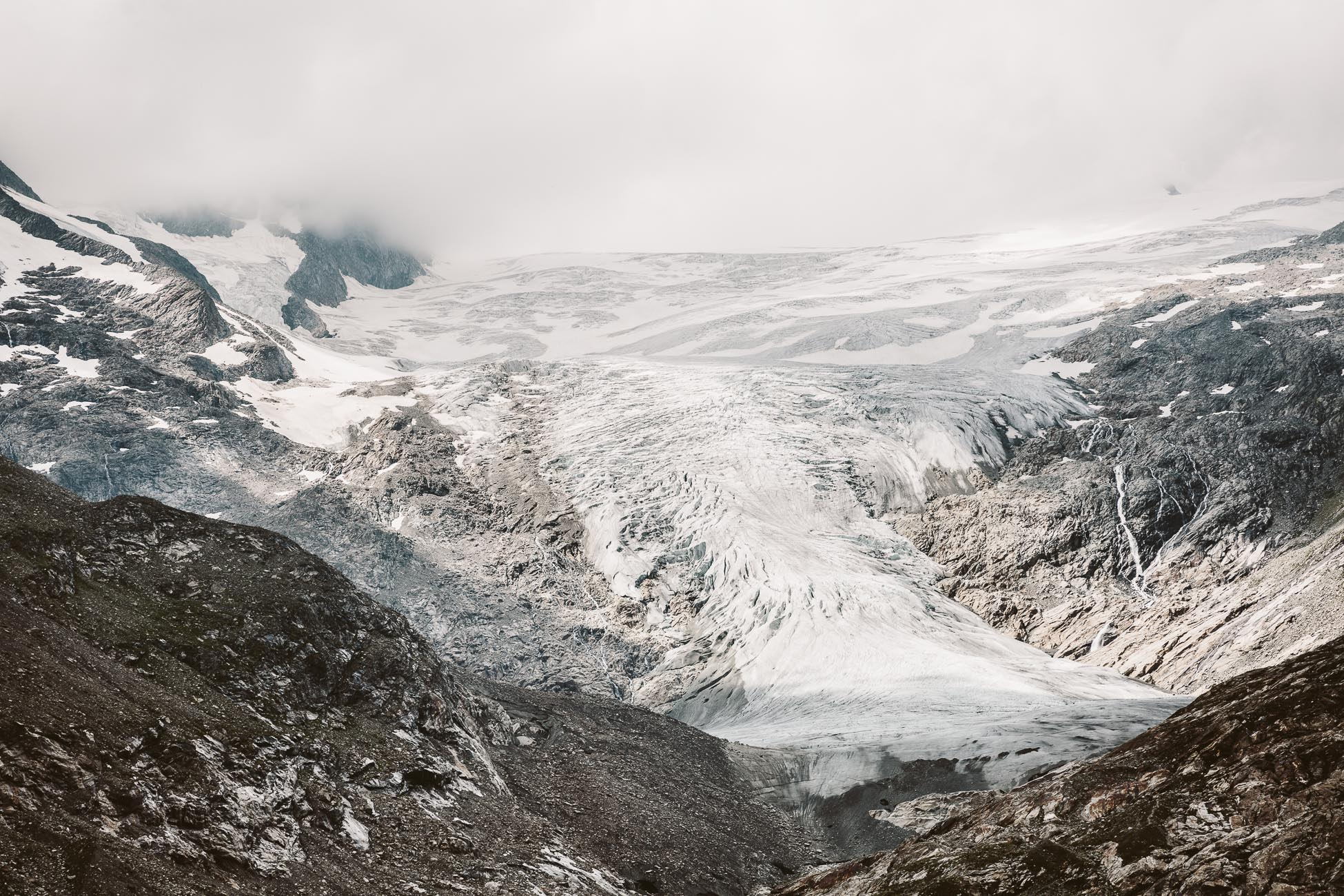 Schlatenkees Glacier at National Park Hohe Tauern