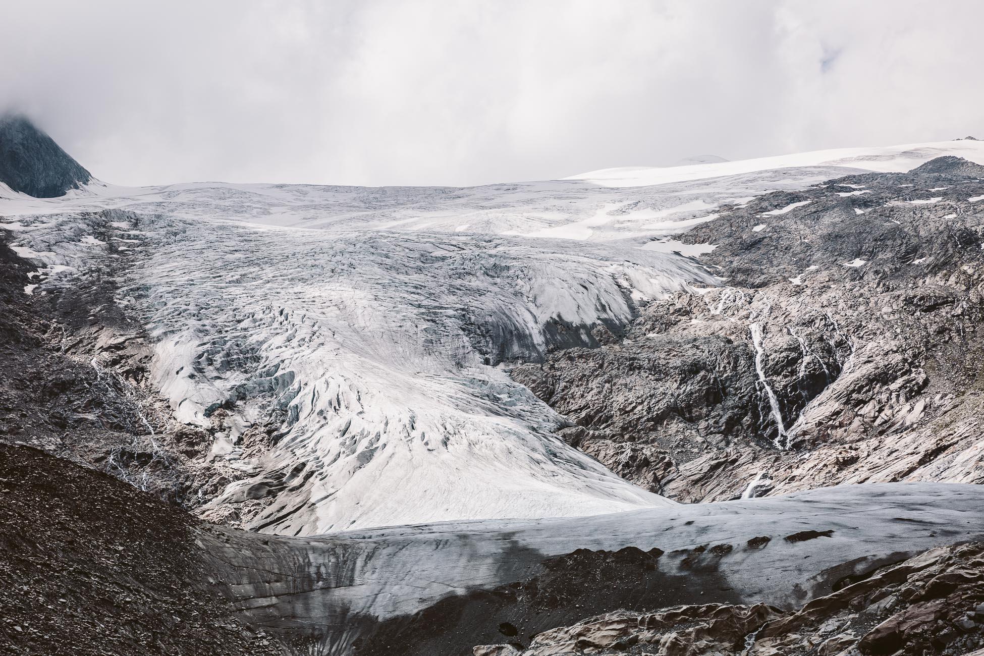 Schlatenkees Glacier at Innergschlöss National Park Hohe Tauern East Tyrol Austria