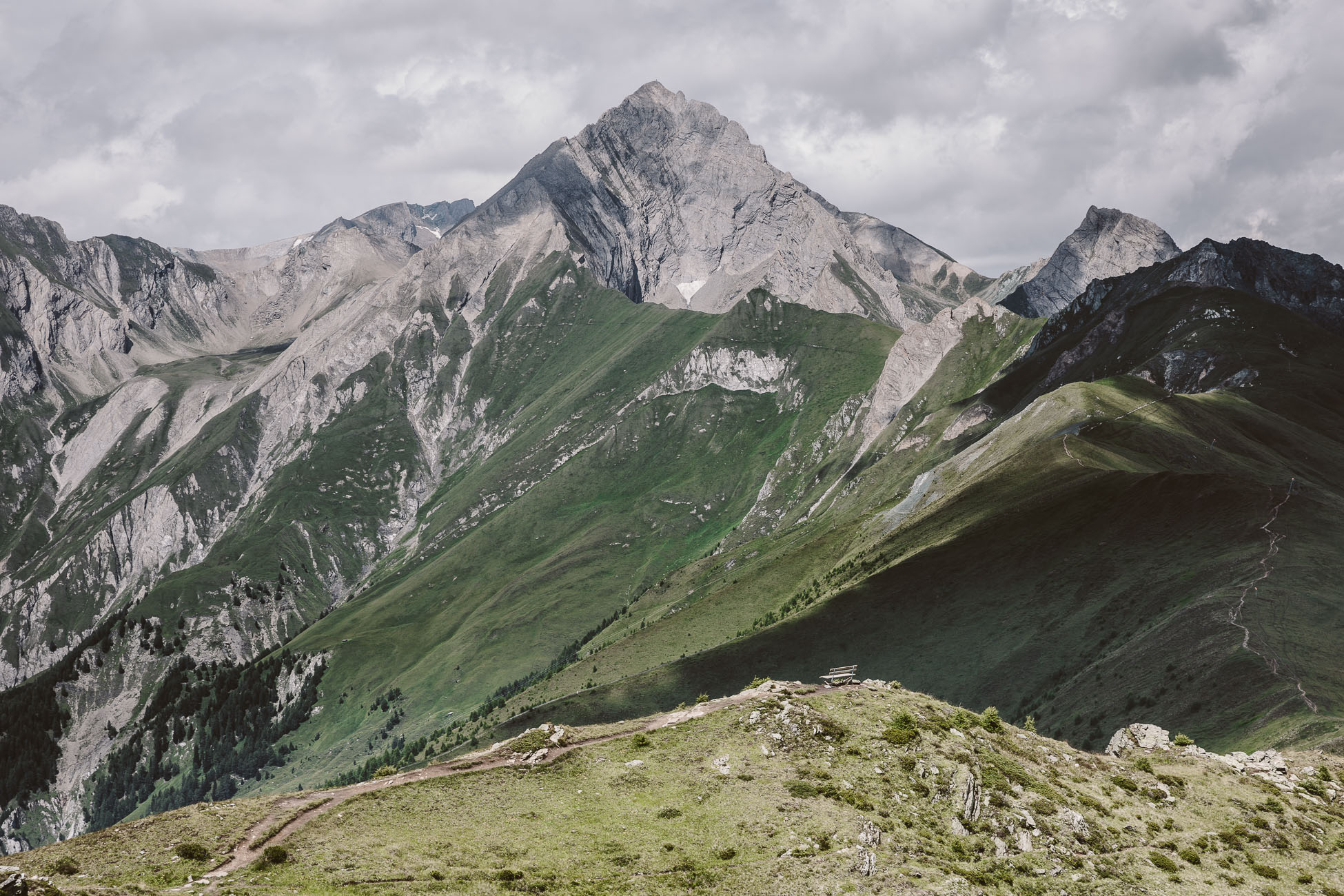 Mountain views at National Park Hohe Tauern