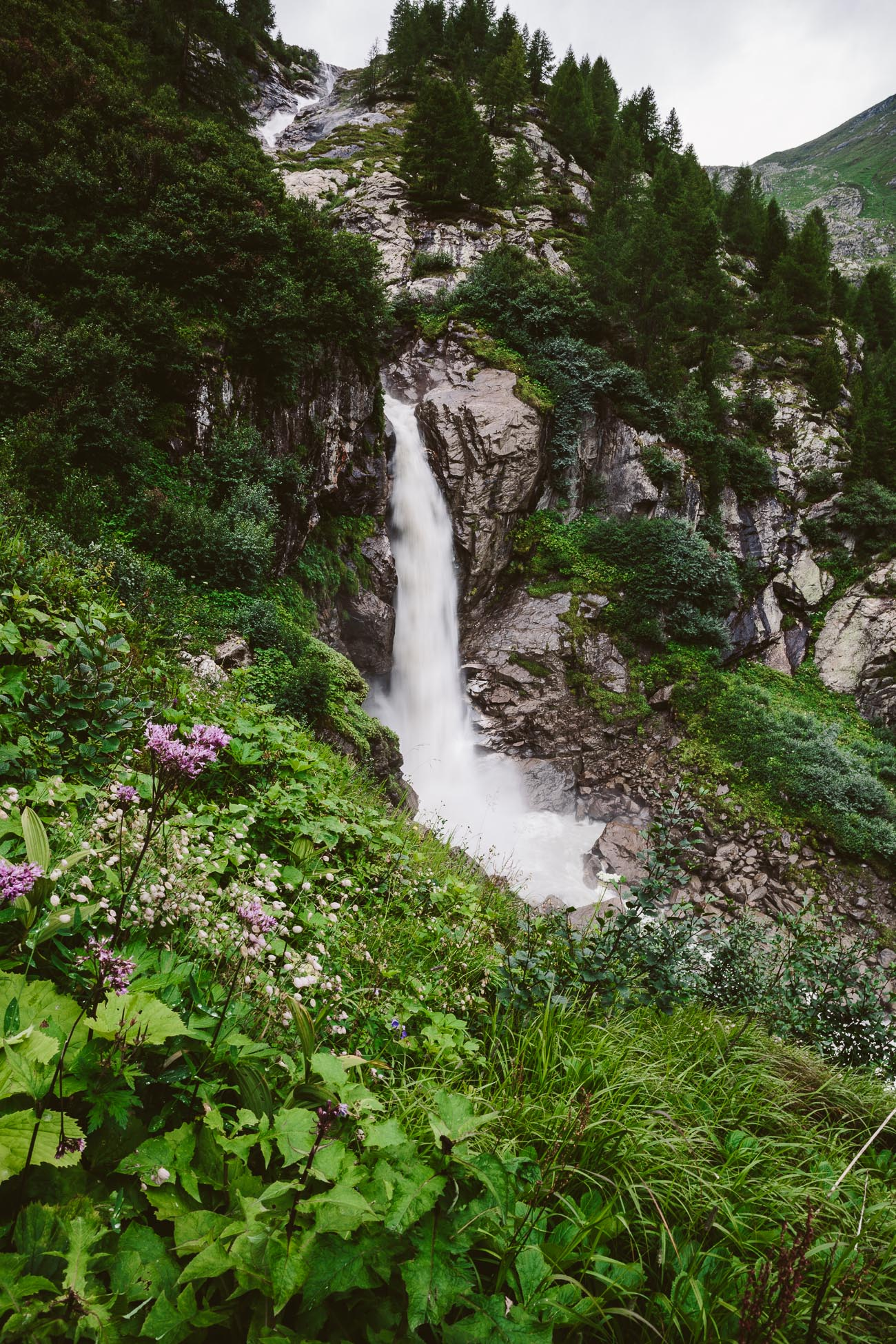 Waterfall at Innergschlöss