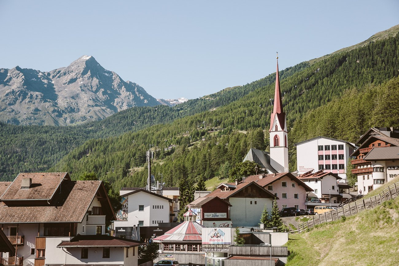 Soelden Oetztal Tyrol