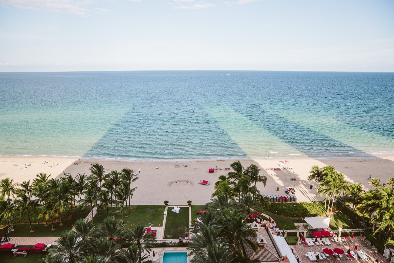 Sunny Isles Beach as seen from Acqualina Resort & Spa